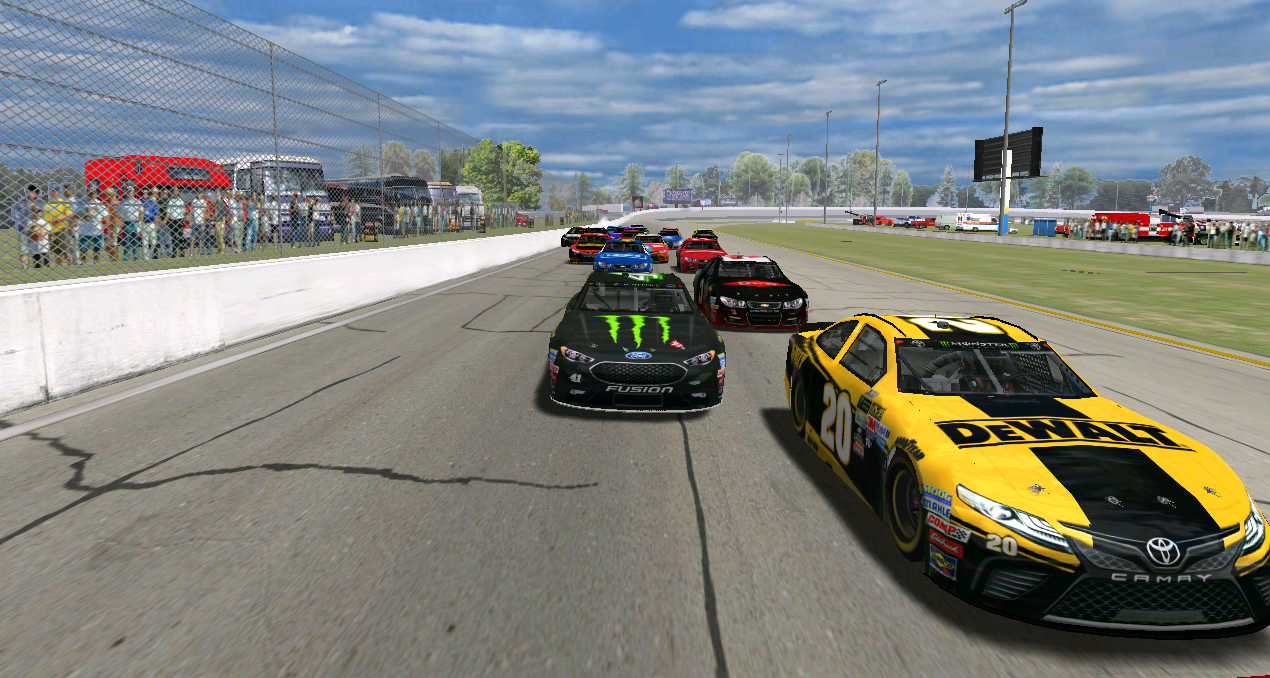 The home of nascar heat thompson motorspeedway for nascar heat is finally here for nascar heat we have done a ton of work on big thanks to daveo for his help pronofoot35fo Image collections