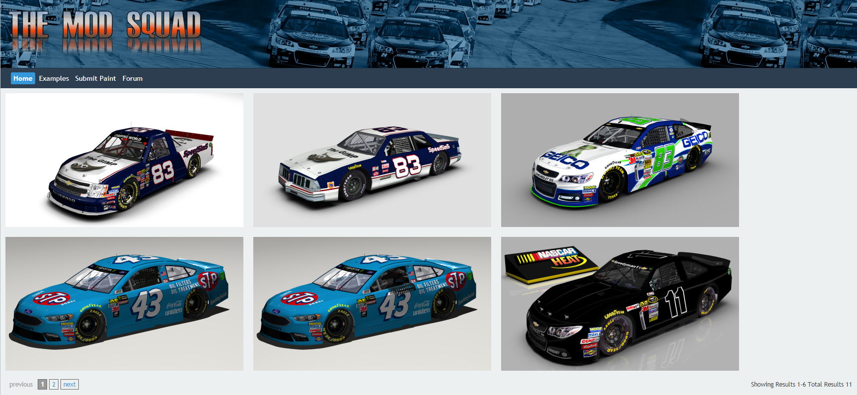 The home of nascar heat we are proud to announce tms rendering system ver 10 initial release pronofoot35fo Image collections